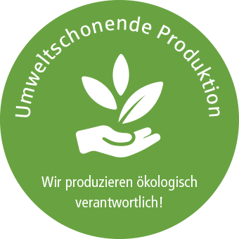 Umweltschonende Produktion